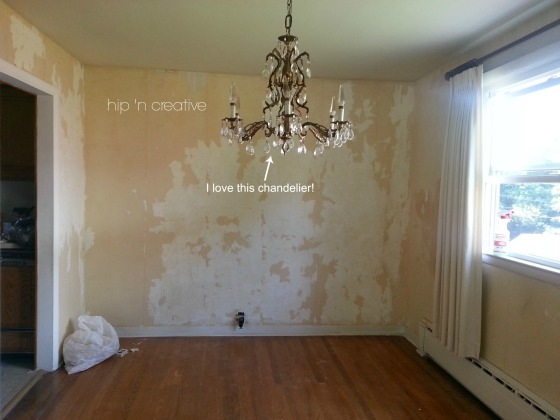 How to remove wallpaper, DIY wallpaper removal via Hip 'n Creative