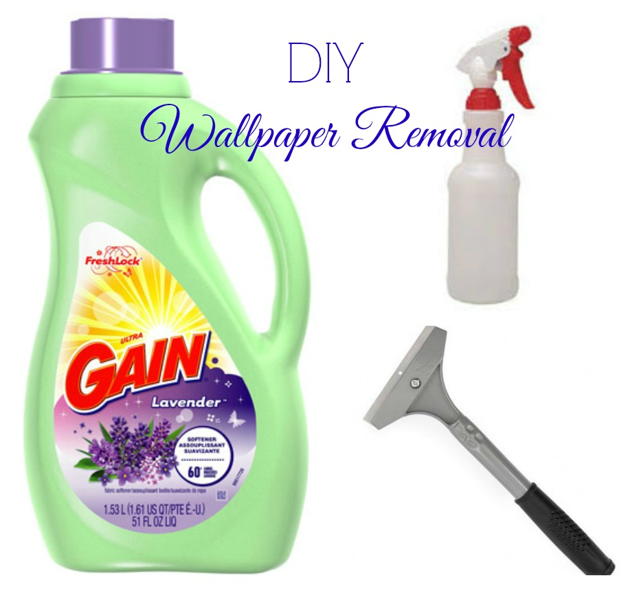 Diy wallpaper removal what worked for me hip n 39 creative for What do you use to remove wallpaper