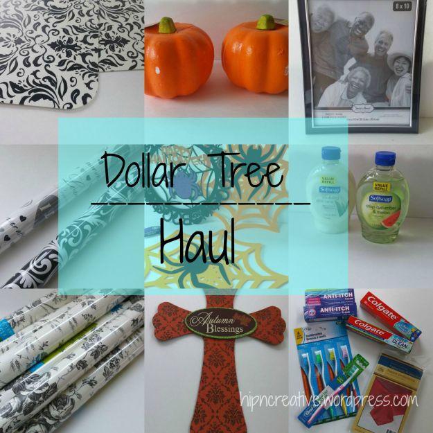 Dollar Tree Haul September 2015 | hipncreative.wordpress.com