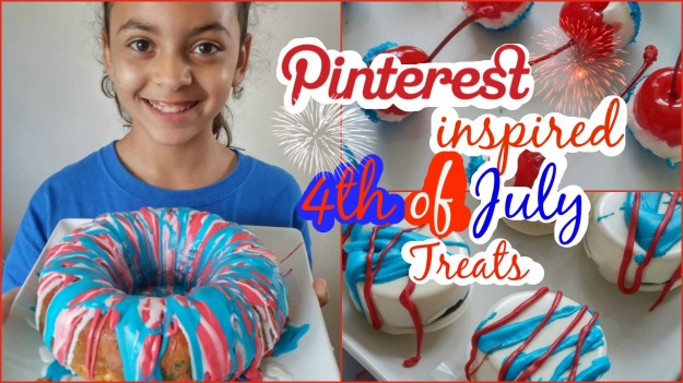 Pinterest Inspired 4th of July Treats