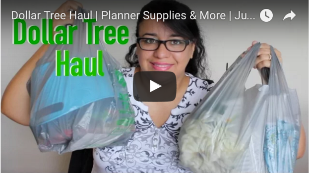 Dollar Tree Haul & Planner Supply | July 2016 | hipncreative