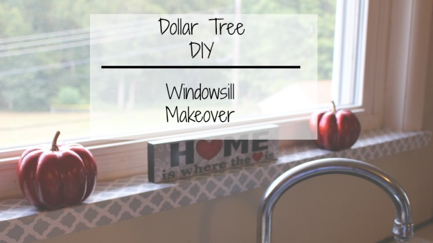 Super simple and inexpensive Dollar Tree Windowsill Makeover. | Hip 'n Creative