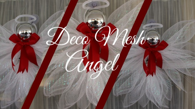 deco mesh angel tutorial